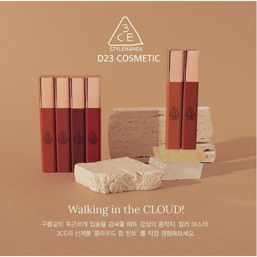 màu son hợp với da ngăm Son 3CE Cloud Lip Tint