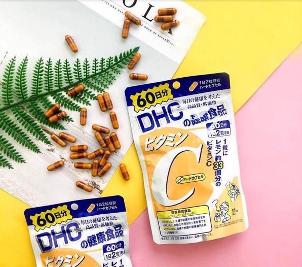 Viên uống bổ sung Vitamin C DHC Hard Capsule có xuất xứ từ Nhật Bản (Nguồn: dhcvietnam.com.vn)