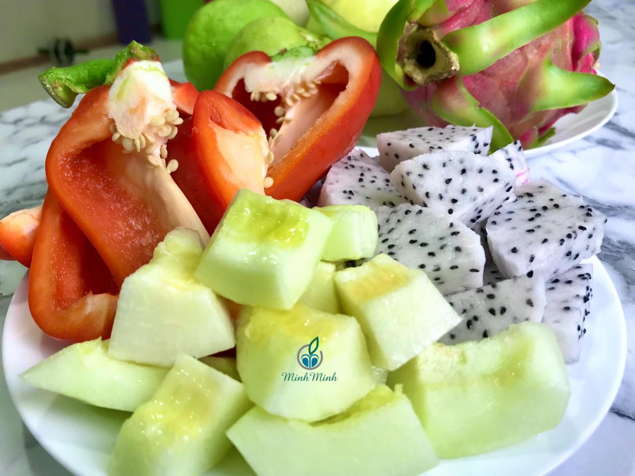 không nên ăn trái cây sau bữa ăn