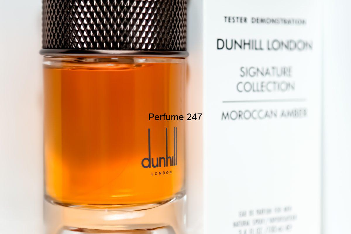 Dunhill Moroccan Amber Tester Demonstration