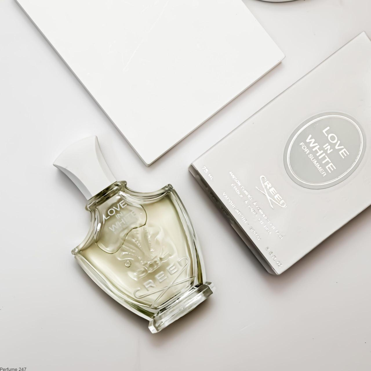 love in white for summer by creed