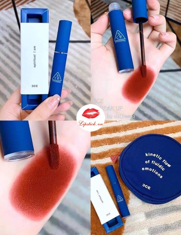 Màu son 3CE mới ra mắt với thiết kế vỏ xanh vừa được ra mắt tại thị trường Trung Quốc vừa rồi