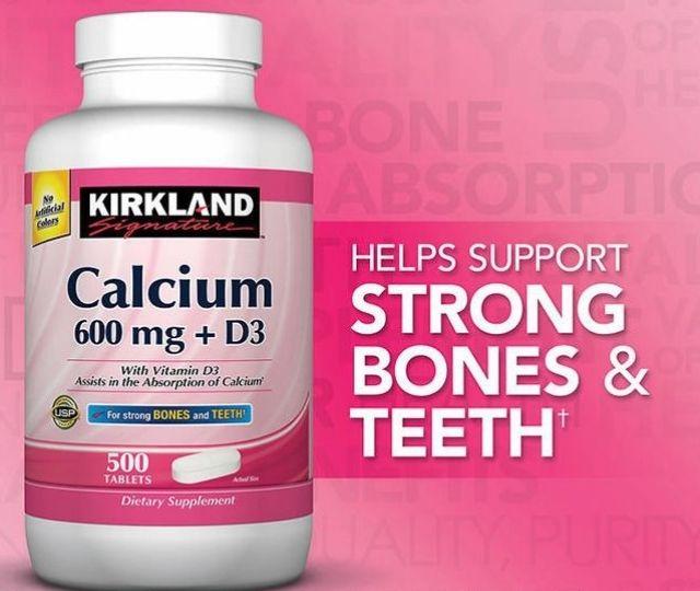 Các sản phẩm của Kirkland - Kirkland Signature Calcium 600mg + D3