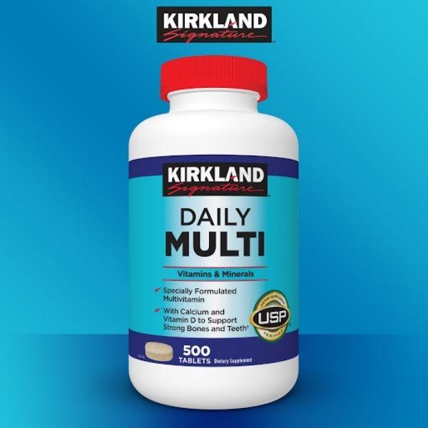 Các sản phẩm của Kirkland - Viên vitamin tổng hợp Daily Multi Kirkland