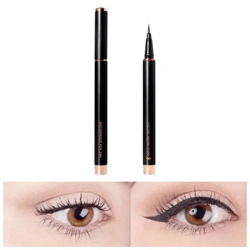 Dùng bút kẻ mắt nước lâu trôi màu