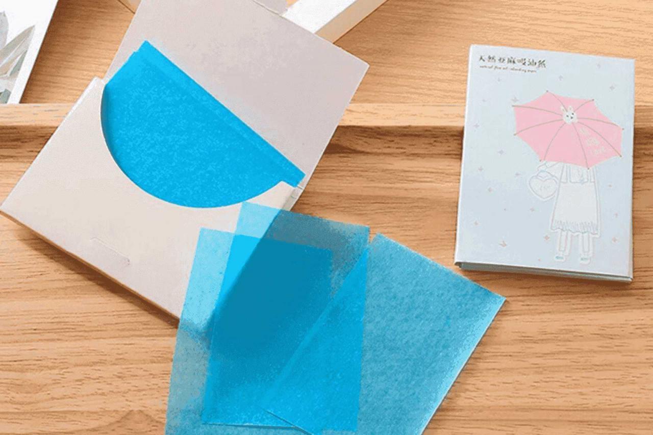 Giấy thấm dầu dạng giấy (Nguồn: watson)