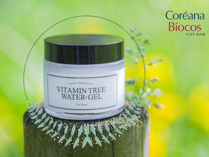 Niacinamide nổi tiếng với công dụng sáng da kiềm dầu có trong kem dưỡng Vitamin tree water gel