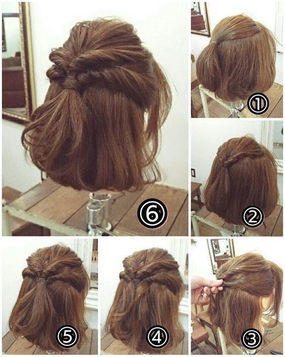 Kiểu tóc tết nửa đầu mang đến sự nữ tính, điệu đà