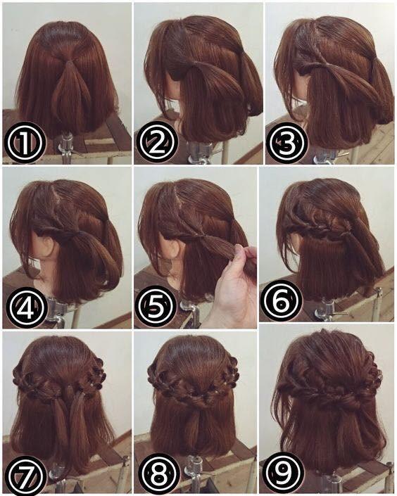 Kiểu tóc tết tỉ mỉ tuy khá cầu kỳ nhưng bạn vẫn có thể dễ dàng thực hiện tại nhà