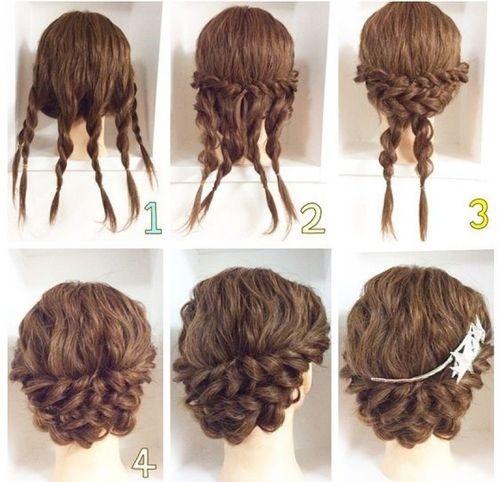 Kiểu tóc tết bồng bềnh giúp cho mái tóc luôn được chắc khỏe, óng mượt