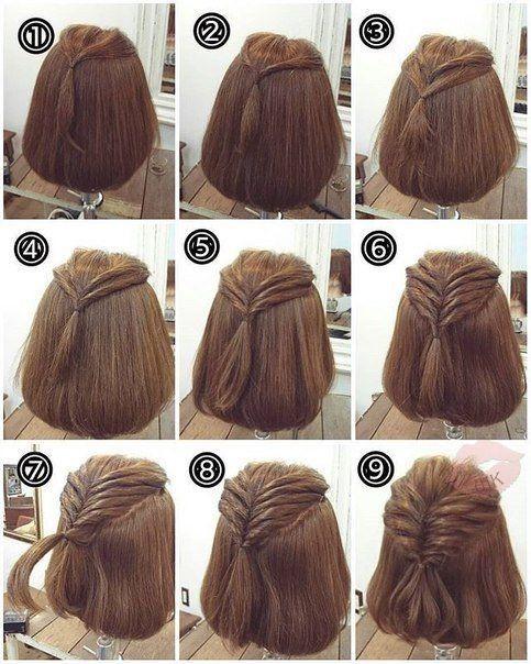Kiểu tóc tết đơn giản nhưng không kém phần quyến rũ cho các bạn gái