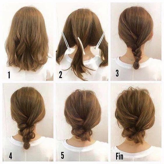 Kiểu tóc tết ngang vai mang lại sự trẻ trung, năng động cho các bạn gái