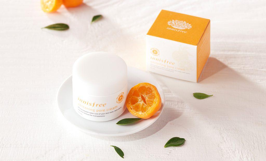 Review Kem dưỡng trắng da chiết xuất thiên nhiên Innisfree Whitening Pore Cream