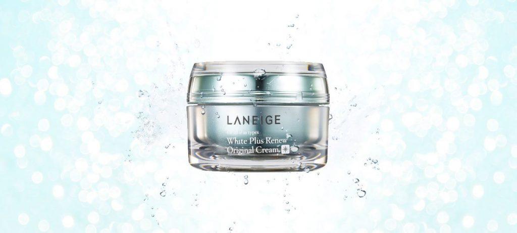 Review Kem dưỡng trắng da mặt tự nhiên Laneige White Plus Renew Original Cream