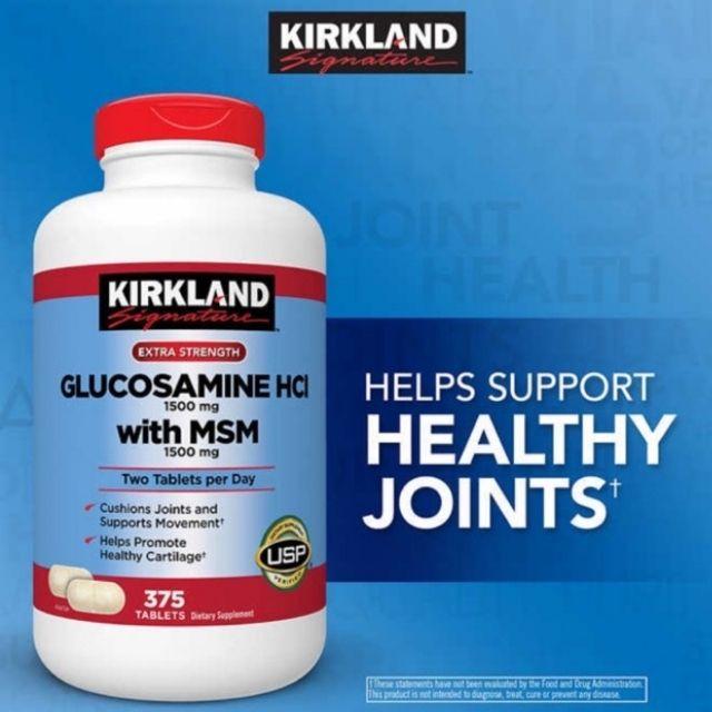 Thực phẩm chức năng Kirkland Glucosamine