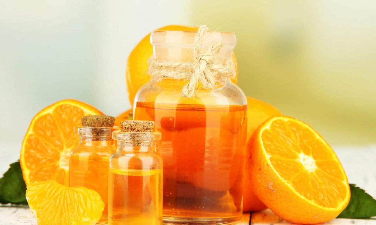 Tinh dầu chất lượng được làm từ vỏ cam sẽ có hương thơm thoang thoảng