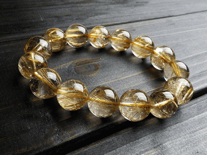 Trang sức cho người mệnh Thổ nên có đá quý màu vàng