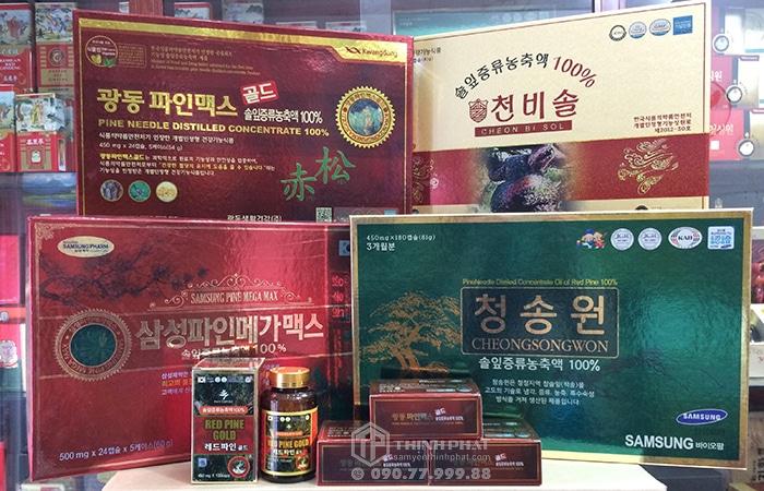 Tinh dầu thông đỏ là loại tinh dầu được nhập khẩu được nhập khẩu trực tiếp từ Hàn Quốc